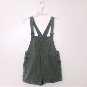 Brandy Melville Army Green Shortalls / Overalls